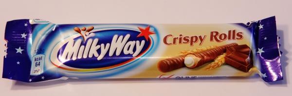 Milky Way Crispy Rolls Verpackung Gesamt