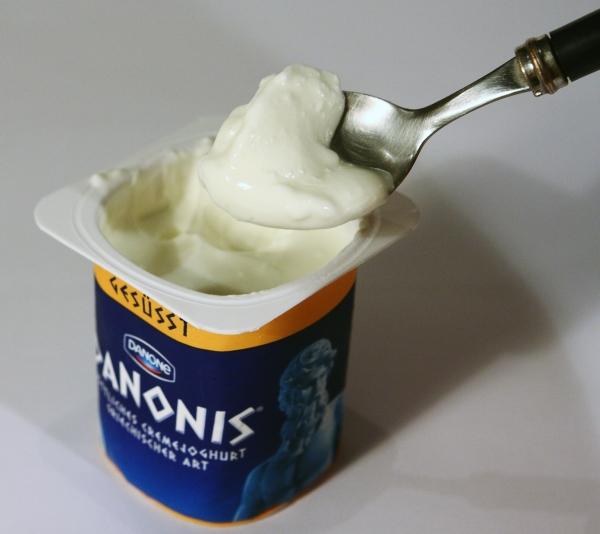 Danone Danonis Joghurt Inhalt Aussehen