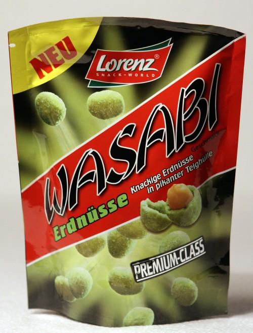 Lorenz Wasabi Erdnüsse Verpackung Packaging Bag