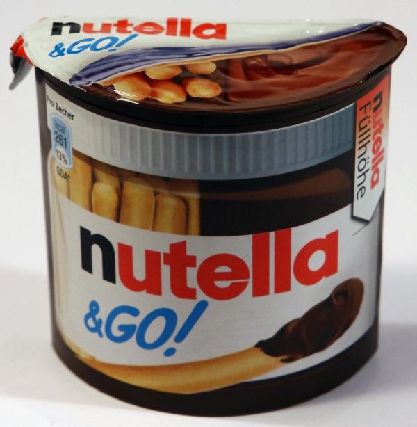 Nutella & Go Verpackung Packaging