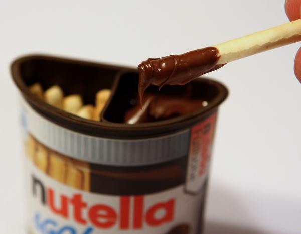 Nutella & Go Aussehen Actual Look