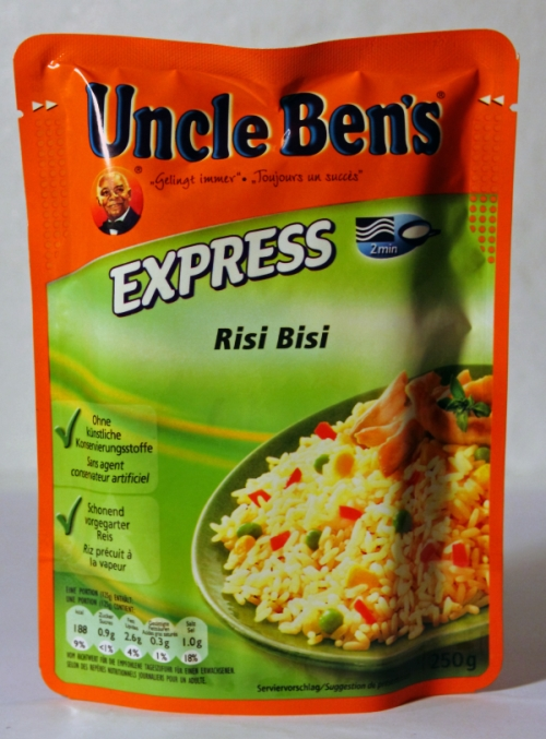 Uncle Ben's Express Risi Bisi Verpackung Packaging