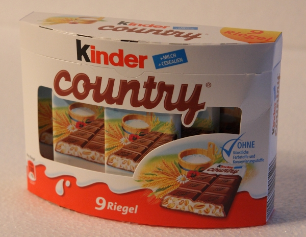 Kinder Country Grosspackung