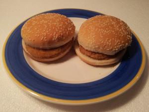 Oskars Chickenburger Aussehen