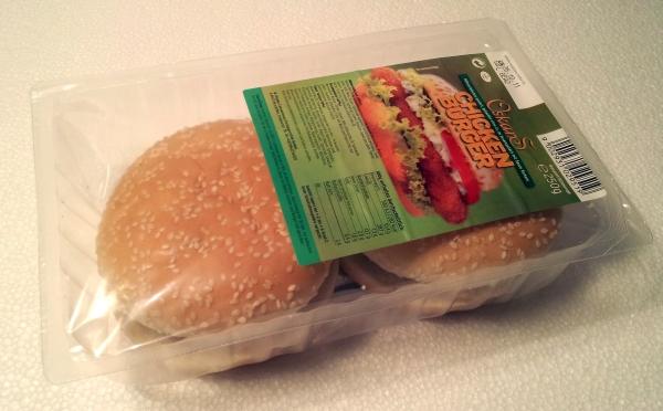 Oskars Chickenburger Verpackung Packaging