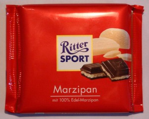 Ritter Sport Marzipan Packung Packaging Big