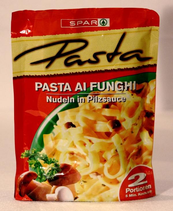 Spar Pasta Ai Funghi Packung