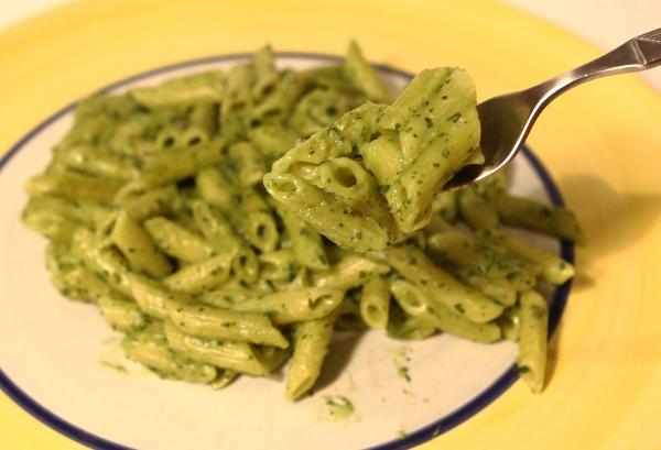Knorr Spaghetteria Aglio con Erbe Aussehen