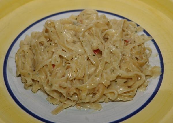 Knorr Spaghetteria Quattro Formaggi Aussehen