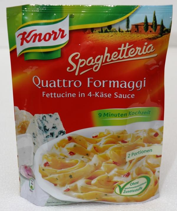 Knorr Spaghetteria Quattro Formaggi Packung