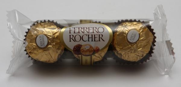 Ferrero Rocher Dreier Verpackung