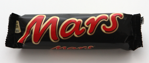 Mars Riegel Verpackung Mars bar packaging