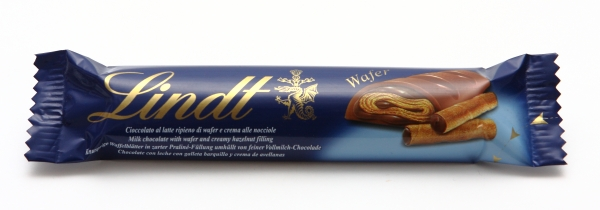 lindt wafer verpackung schokoriegel chocolate bar