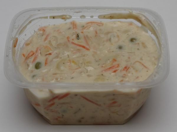 spar veggie bio nudel gemüse salat inhalt echtes aussehen 1