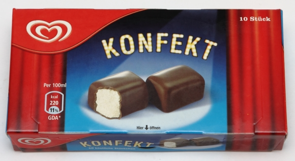 langnese eskimo konfekt werbung