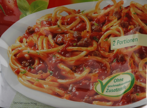 knorr spaghetteria pasta detail bild aufnahme