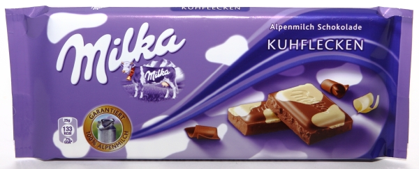 milka schokolade verpackung aussehen