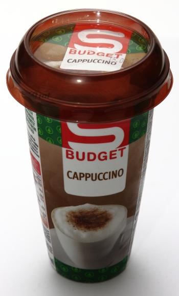 spar sbudget cappuccino becher packung