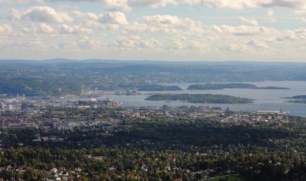 norway landscape pictures oslo panoramic view