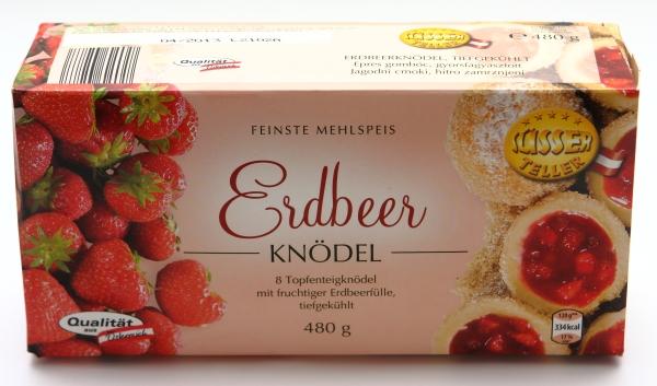 aldi erdbeer knödel mehlspeise zucker gemisch
