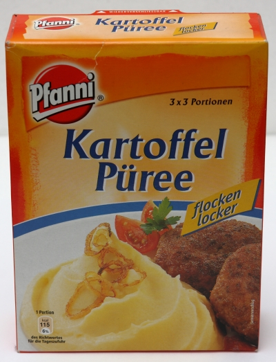 serviervorschlag bilder püree pfanni kartoffeln