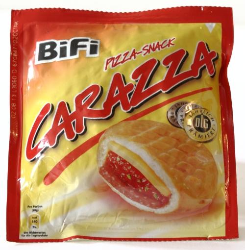 bifi carazza nährwertangaben stoffe salami käse tomaten mark