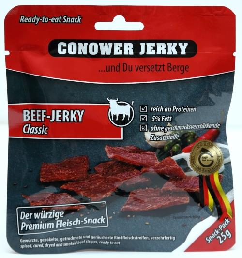 beef jerky verpackung aussehen werbung usa amerika fleisch beef