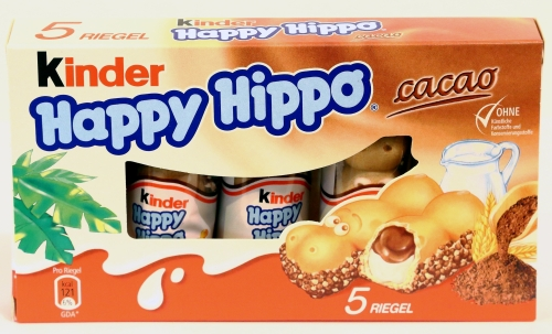 kinder happy hippo cacao kakao realität werbung schokolade