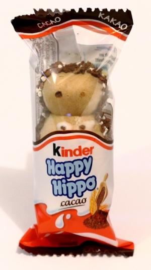 kinder happy hippo cacao kakao einzel riegel bilder aufnahme