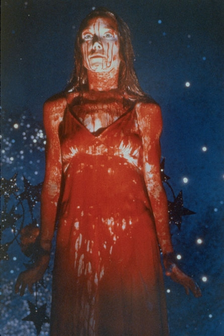 carrie covered in blood movie still poster ballroom picture