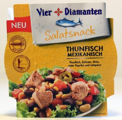 Vier Diamanten Thunfisch Verpackung Bilder Fotos Test Kaufbericht