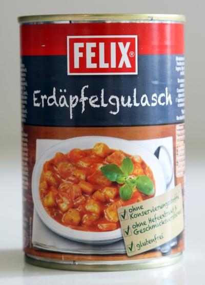 Felix Gulasch Fertig Gulasch Aufwärmen Dose Konserven Essen
