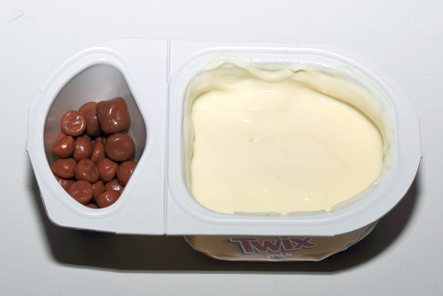 Danone Twix Mix Joghurt Hofer Aldi Joghurt Bilder Becher