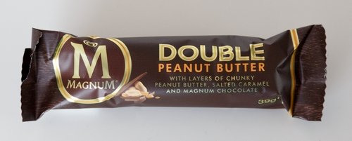 Magnum Double Peanut Butter Erdnuss Riegel